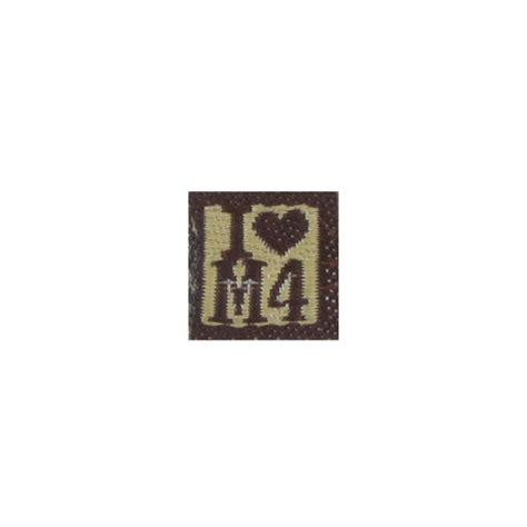 Patch M4 Operator Brown i m4 patch brown x series machinegun