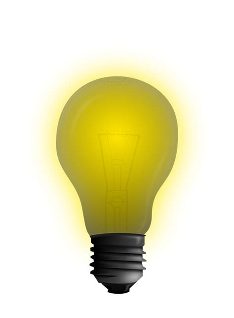 Idea Lamp free vector graphic bulb concept idea light free