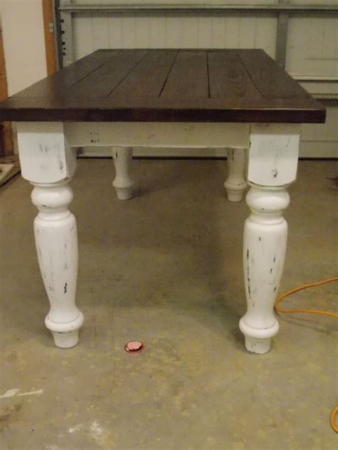 Rustic Dining Table Plans Rustic Farmhouse Table Plans Farmhouse Table Turned Leg For The Home Pinterest Legs