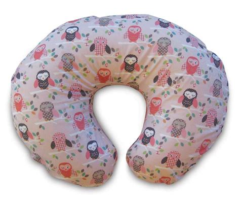 boppy pillow slipcover com boppy pillow with slipcover owls breast
