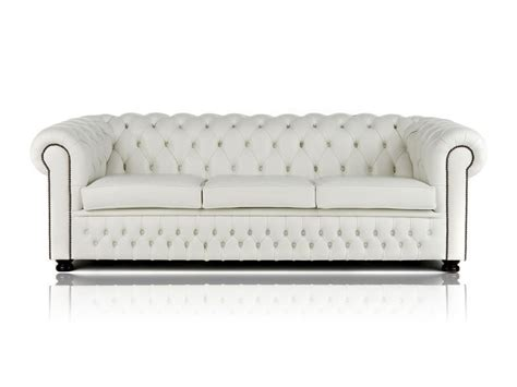White Chesterfield Sofa White Leather Chesterfield Sofa Home Furniture Design