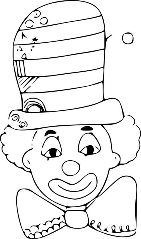Coloriage Clown Chapeau Dessin 224 Imprimer Sur Coloriages Info
