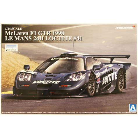 124 Mclaren F1 Gtr 1997 Le Mans 24h aoshima 1 24 mclaren f1 gtr 1998 le mans 24h loctite no 41 07501 up scale hobbies
