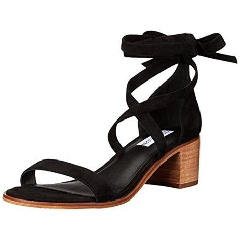 steve madden heeled sneakers steve madden 3356 womens rizzaa suede stacked heel dress