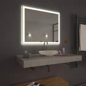 wandspiegel mit beleuchtung spiegel mit led beleuchtung velen umlaufend led 9000279