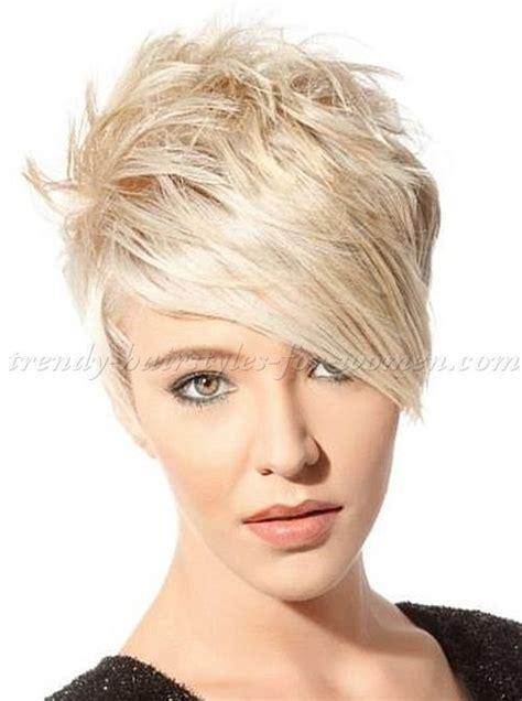 92 best short funky hair cuts images on pinterest hair 25 best ideas about short hair long bangs on pinterest