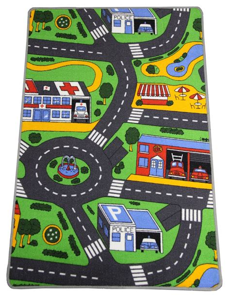 Tapis Route Voiture by Tapis Route Enfant