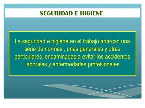 sueldode empleado de seguridad e higiene 2016 condiciones de seguridad laboral e higiene del trabajo en