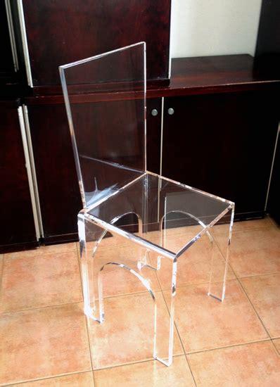 sedia plexiglass sedie in plexiglas poliedrica s r l arredamento e