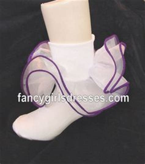 diy pageant socks ruffle socks with piping diy clothes