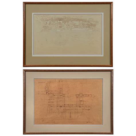 frank lloyd wright prints frank lloyd wright 1867 1959 wasmuth portfolio print haro