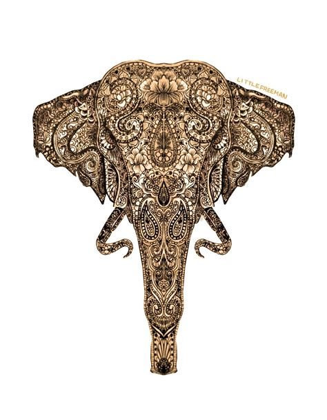 pattern elephant art creative hindu art elephant on arts inspiration elephant