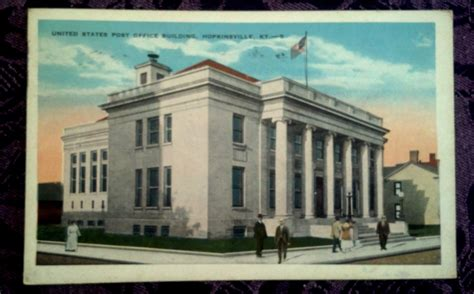 Hopkinsville Post Office united states post offices hopkinsville kentucky 1926