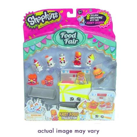 Shopkins Food Fair Fast Food Collection 1 10 best big room images on