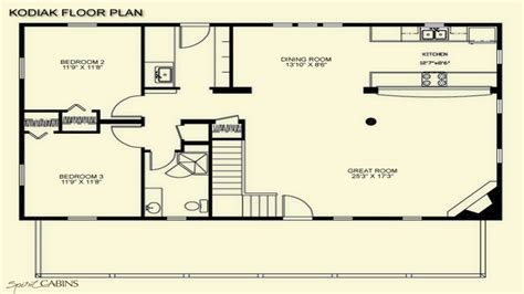 cabin floorplan log cabin floor plans with loft log cabin floor plans