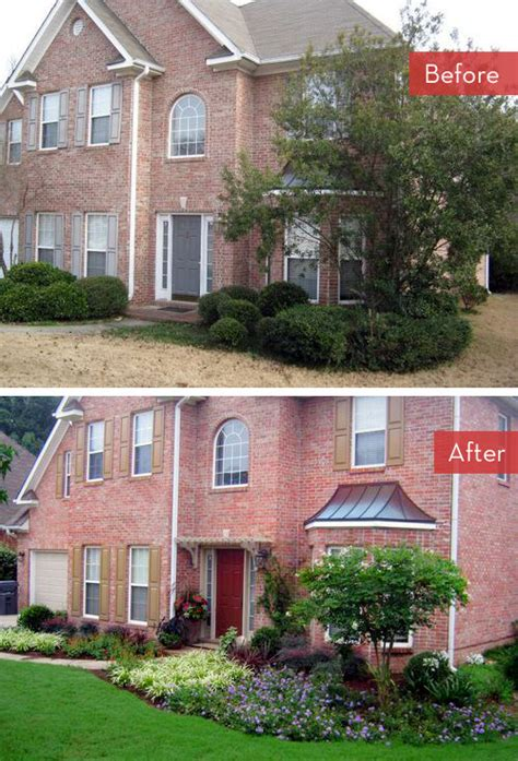 front yard makeover ideas roundup 5 yard landscaping makeovers 187 curbly diy