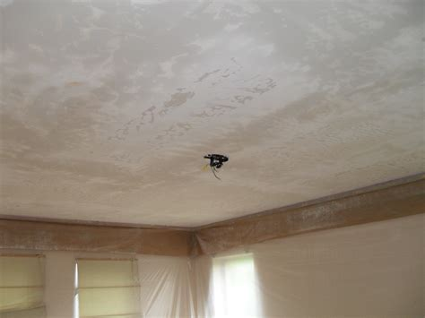 How To Clean Textured Ceilings by Ceiling Popcorn Removal How To Remove A Popcorn Ceiling