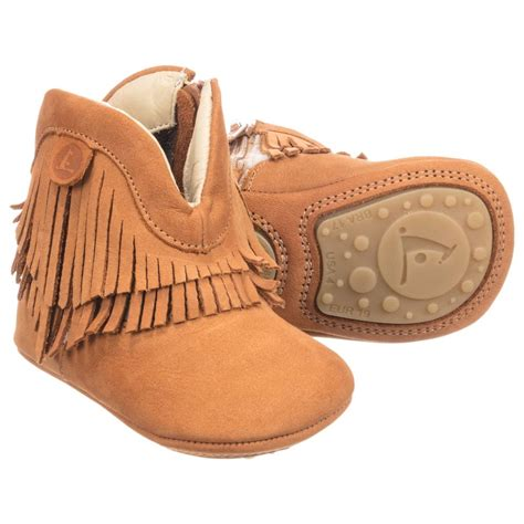 tip toey joey suede baby boots childrensalon