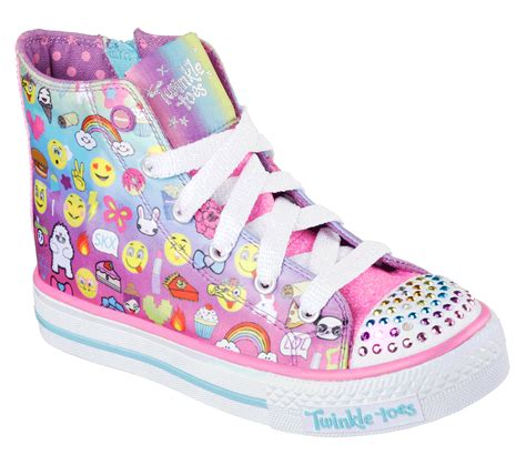 skechers light up shoes on off switch buy skechers twinkle toes shuffles chat time twinkle
