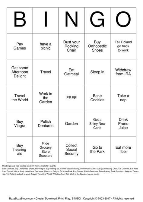 printable retirement games retirement bingo bingo cards to download print and customize