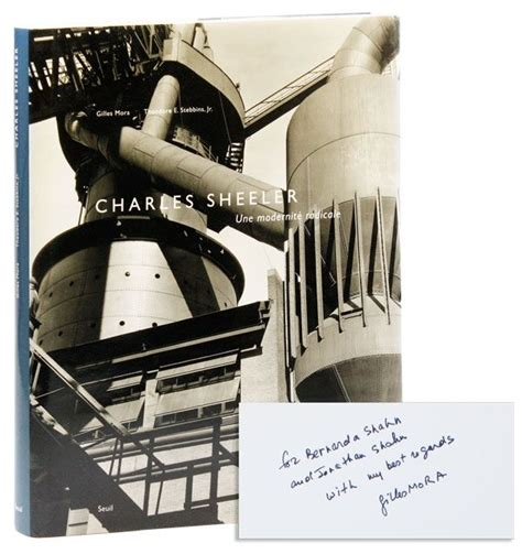 gilles folio french edition b074xvztmh charles sheeler une mod 233 rnit 233 radicale inscribed signed by mora trans marie france de