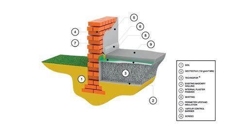 TECHNOpor® foamed glass structural sub floor insulation 1