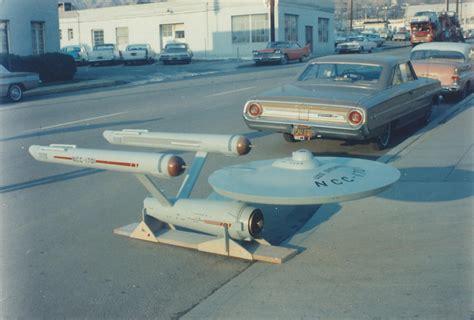 trek starship enterprise studio model