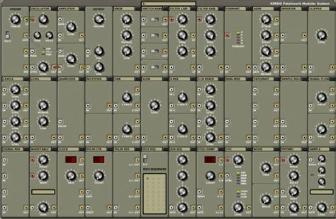 xsrdo patchwork modular system modular synth audio