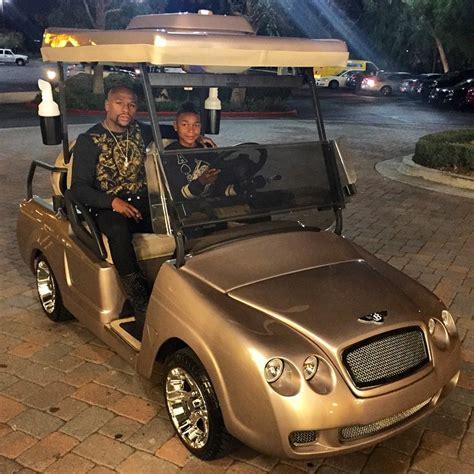 bentley floyd floyd mayweather buys bentley golf cart for son koraun