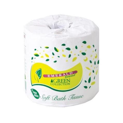 emerald toilet rolls  ply white pack   rolls