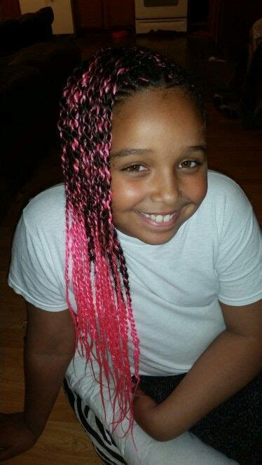 Kaos Ombre Maroon mohawk with a pink pop cornrow styles for mohawks and cornrow
