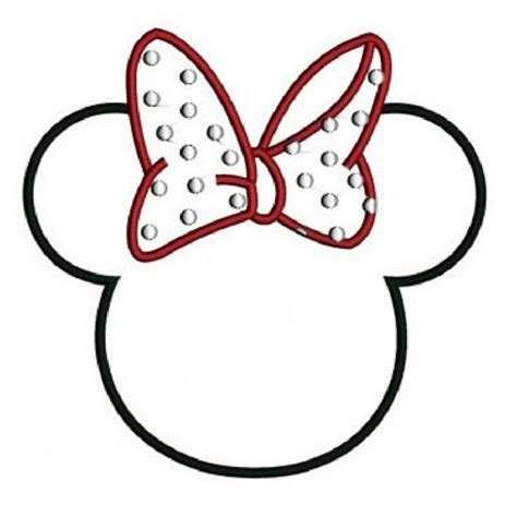 Minnie Mouse Ears Coloring Page | minnie mouse ears coloring pages prinzewilson com