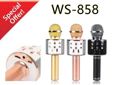 Mic Ws 858 Mic Ktv Mic Bluetooth Mic Wireless Microphone Speaker ws 858 ws858 karaoke ktv mic portabl end 4 19 2019 4 15 pm