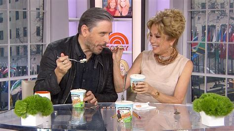 kathie lee gifford jerry kathie lee and craig ferguson try new vegan ben and jerry