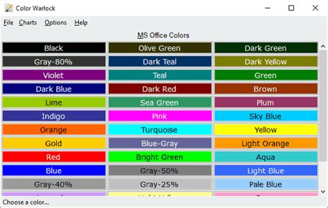 color hex picker free color chart maker software with color picker copy