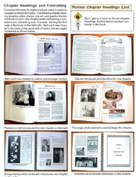 Creating A Family History Ancestry Book Templates