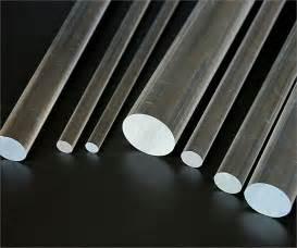 Clear Plastic Curtain Rods Rod Acrylic