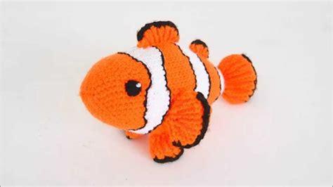 pattern fish on youtube amigurumi crochet pattern clownfish pattern presentation