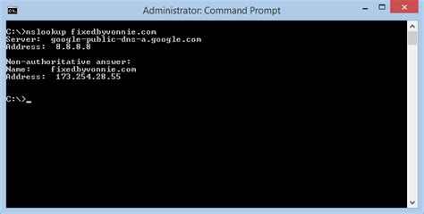 Lookup Nslookup 10 Windows Commands You Need To Fixedbyvonnie
