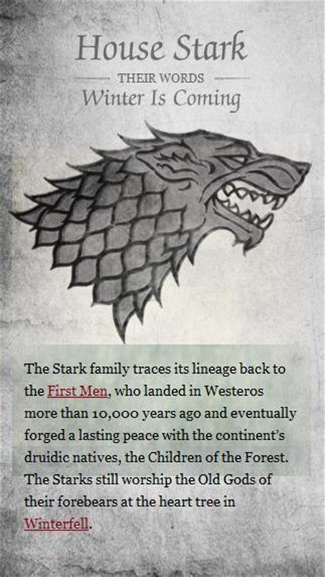 house stark of thrones photo 21108561 fanpop