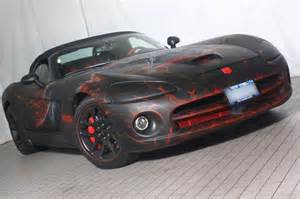 Custom Dodge Viper 10 Vehicles That Rocked The Flames On Their Paint
