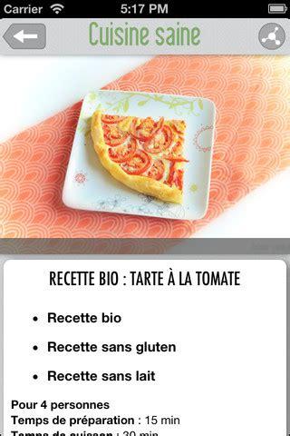 recette de cuisine saine cuisine saine du bon du bio des recettes simples dans