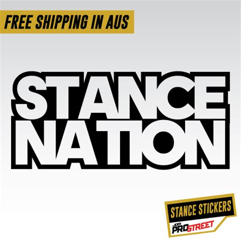Cutting Stiker Stance Nation stance nation decal www pixshark images galleries