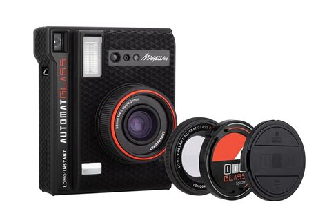 lomo digital lomo instant automat glass magellan has a wide angle glass