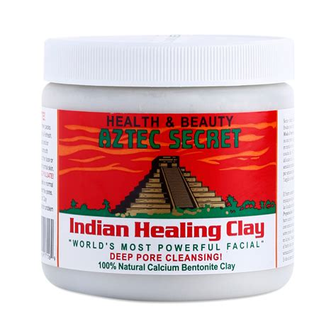Aztec Secret Clay For Detox by Indian Healing Clay By Aztec Secret Thrive Market