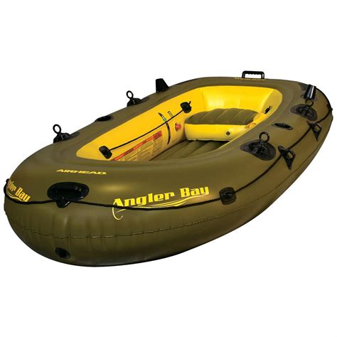 inflatable boat bunnings airhead 174 angler bay inflatable boat 4 person 199529