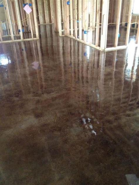ebony acid stained concrete, 337 581 3270 Anthony