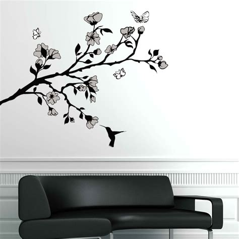 wall and stickers hummingbird wall sticker removable wall stickers and wall decals