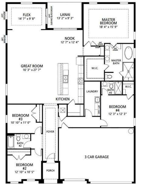 New Home Floorplan Melbourne, FL Venice   Maronda Homes