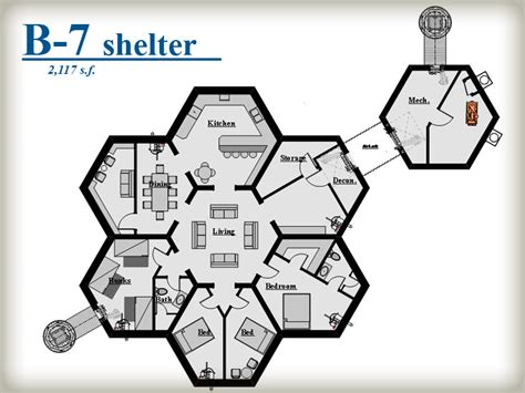 Customizable House Plans by Beehive Shelter Systems Honeycomb Pod System